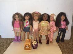 "MADAME ALEXANDER 18"" DOLL LOT OF 6 Dolls Need TLC #Dolls"