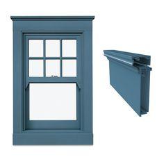 craftsman exterior window trim - Google Search