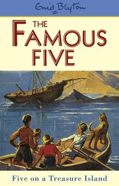 The Famous Five Enid Blyton is a wonderful author, all children should read some of her books. The Famous five and The Secret seven are two of her book series. Famous Five Books, 100 Best Books, The Famous Five, Great Books, Treasure Island Book, Enid Blyton Books, World Book Day Costumes, Children's Book Illustration, Book Illustrations