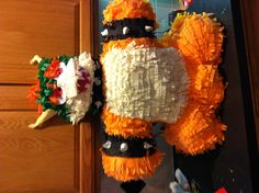 Front of Bowser Piñata