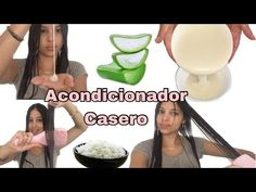 Acondicionador casero de 🍚arroz y 🌵sabila 100% natural,ideal para todo tipo de cabello/Wendy Mendoza - YouTube Afro Hairstyles, Hair Hacks, Aloe Vera, Beauty Hacks, Beauty Tips, Shampoo, Hair Beauty, Hair Styles, Health