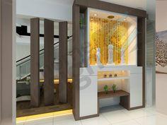 Altar Design Temple Contemporary Interior Designing