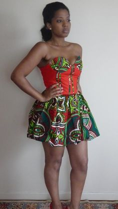 african print combination...