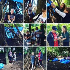 A fab morning den building at Ferry Meadows! #learningskills #tietheknotwithnature