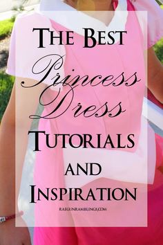 Best DIY Projects: Super helpful list of tutorials for making princess dresses (sleeves, skirts, bustle, etc.) - Rae Gun Ramblings