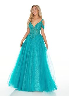 Long Ball Gown Prom Dress | The Dress Outlet Ball Gowns Prom, Ball Dresses, Long Dresses, Corset Dresses, Prom Dress Stores, Designer Prom Dresses, Perfect Prom Dress, Tulle Gown, Pretty Dresses