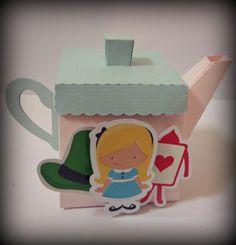 Caixinha Bule de chá