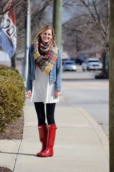 Red Hunter Boots + Q&A ~ Roses and Rain Boots