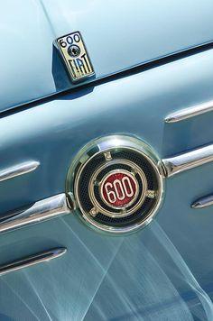 1960 Fiat 600 Jolly Emblem by Jill Reger