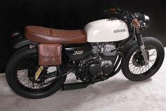 """Cafe Racer Special: Honda CB 350 Four Street Tracker """"SmoothCriminal"""""""