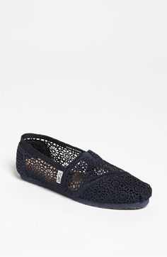 e03843a108d TOMS  Classic  Crochet Slip-On (Women) available at  Nordstrom Lace
