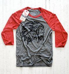 Little Mountain Print Shoppe — Native Chief // Raglan