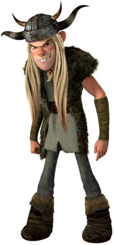 This is Tuffnut, from HTTYD. Don't mess with him unless you have a twin.