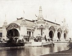Palace of Transportation at the 1904 World's Fair.