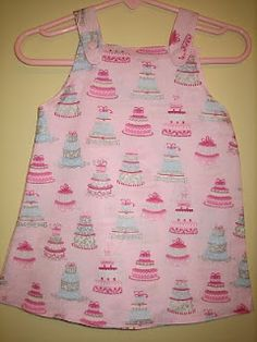 tutorial on how to sew a girls dress http://mamato5blessings.com/2010/04/dress-hairbow-for-my-birthday-baby/