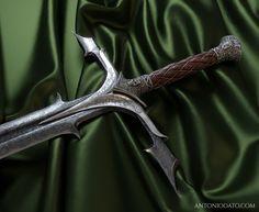 Two Handed Sword, Antonio Dato - Messer Fantasy Blade, Fantasy Sword, Fantasy Weapons, Swords And Daggers, Knives And Swords, Sword Mage, Medieval, Steel Image, Cool Swords