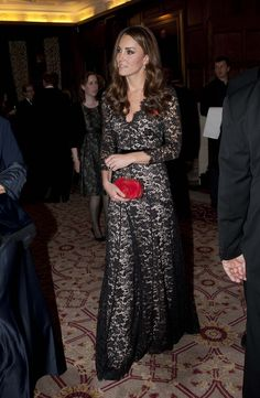 Dream Dress.....Kate Middleton in Alice Temperley Dress at University of Scotland gala with Prince William