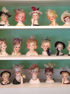 Collecting Lady Heads  #roadkillgirl, #roadkillranch, #ladyheads,