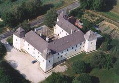 EGERVÁR.Nádasdy kastély Homeland, Beautiful Landscapes, Castle, Mansions, House Styles, Building, Palaces, Villas, Travel