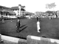 Photo of Ilfracombe, Pavilion Sports Green 1926 Pavilion, Street View, Journey, History, Green, Sports, Travel, Collection, Vintage
