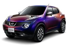 Nissan Juke special edition in 'Midnight Purple IV'