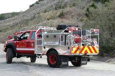 Sam Bass Fire Department Truck Brush 1