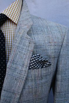 Vintage Mens Christian Dior Plaid Sportcoat from ViVifyVintage