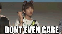 Sandeul don't care about nothing☆