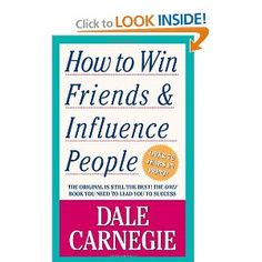 How to Win Friends & Influence People: Dale Carnegie: This grandfather of all people-skills books was first published in 1937. It was an overnight hit, eventually selling 15 million copies. How to Win Friends and Influence People is just as useful today as it was when it was first published, because Dale Carnegie had an understanding of human nature that will never be outdated.
