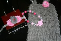 Hey, I found this really awesome Etsy listing at https://www.etsy.com/listing/227558907/grey-and-pink-petti-romper-cake-smash