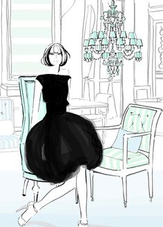 fashion illustration by kerrie hess
