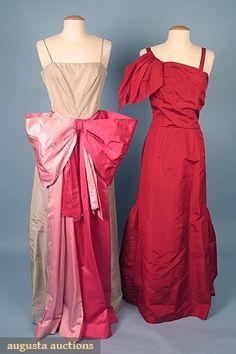 Augusta Auctions, April 2006 Vintage Clothing & Textile Auction, Lot 620: Elizabeth Arden Ballgown, C. 1948