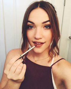 Getting ready for the Saturn Awards tonight ⚡️ Who's excited!? -@violettbeane