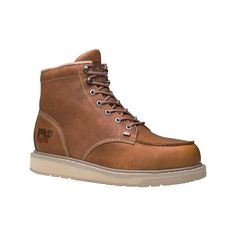 8f7364af The Barstow Wedge Boot features unlined, rugged full grain leather for  comfort and durability and