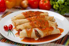 Crepes, Sin Gluten, Waffles, Pancakes, Fresco, Hungarian Recipes, Hungarian Food, Carrots, Sausage