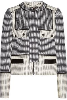 Proenza SchoulerBasketweave tweed jacket