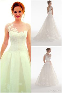 April Kepner's Wedding Dress from Grey's Anatomy - loooove it but without the pink band❤️