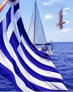 Today is the day for Greeks to remember and celebrate! Mykonos, Santorini, Greek Flag, Greek Beauty, Greek History, Greek Culture, Thessaloniki, Ancient Greece, Greek Islands