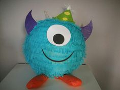 Piñata de monstruo pequeño