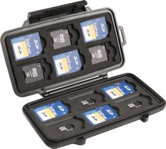 Pelican Memory Card Holder Cases from Pelican-Case.com