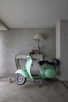Vespa at home. #Vespa #Piaggio #italiandesign
