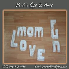 We have white wooden letters in store, so come and create your own words.Call us on: 076 372 1489 See more at: tinyurl.com/qg7f74n #Gifts #Arts #Crafts Wooden Letters, Create Your Own, Store, Gifts, Home Decor, Art, Wood Letters, Craft Art, Presents