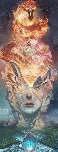 digital artist Andrew Jones - on Xaxor