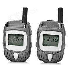 """""""F-700 1.2"""""""" 462~5625MHz 22-Channel Walkie Talkie - Grey"""". Convenient to carry; Clear talking voice. Tags: #Electrical #Tools #Walkie #Talkies"""