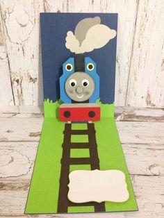 Thomas The Tank Engine Pop-up Birthday Card by Greeting Grub Cards