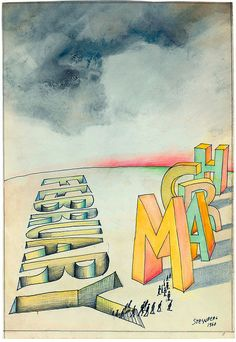 February yo March, Saul Steinberg
