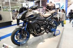 With the MT-09 Tracer aims to bridge the gap between the road and trail (Photo: Stephen Cl...
