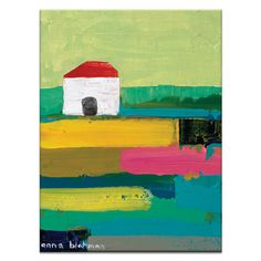 Artist Lane Rural by Anna Blatman Painting Print on Canvas
