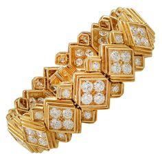1980s HARRY WINSTON Diamond Bracelet