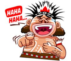 Pace and Mace Papua by Arif Hakim-Arnes-Indra (Branch Jayapura) sticker Cartoon Jokes, Cartoon Pics, Funny Cartoons, Funny Memes, Panda Drawing, Emoticon, Emoji, Funny Caricatures, Funny Stickers